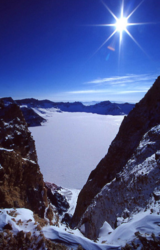 Changbai Mountain, one of the 'Top 8 February destinations in China' by China.org.cn.