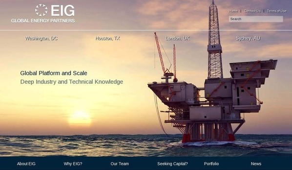 EIG Global Energy Partners has sold a minority stake to China Investment Corporation. [File photo]