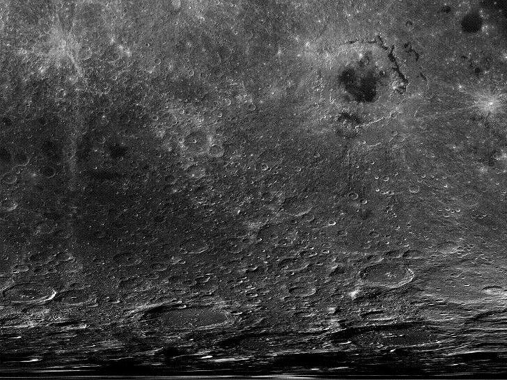 Луна в высоком разрешении