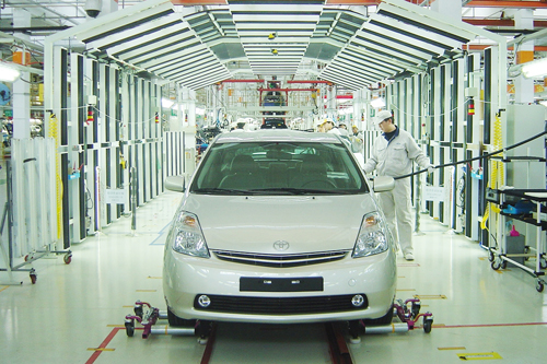 FAW Toyota Motor Sales Co. Ltd, one of the 'Top 10 automakers in China 2011' by China.org.cn