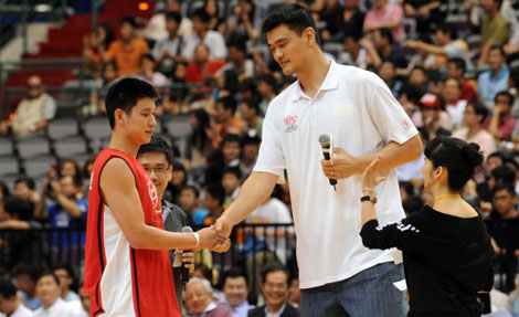 Lin captures Asian hearts and minds