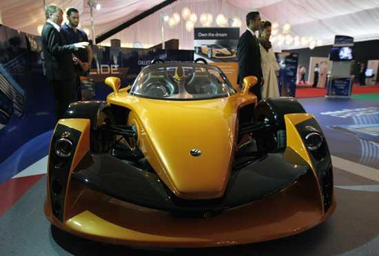Big Boy Toys Car Show : Dubai holds big boys toys show china