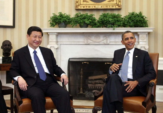 Chinese VP meets Obama