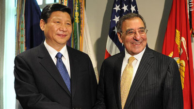 Chinese VP meets US defense secretary