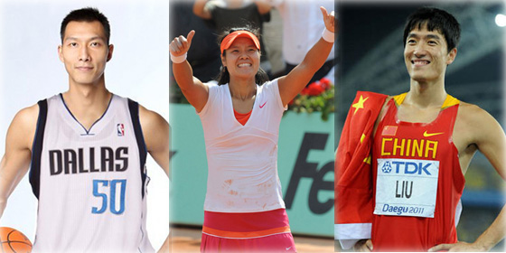 Top 10 highest-earning Chinese athletes of 2011