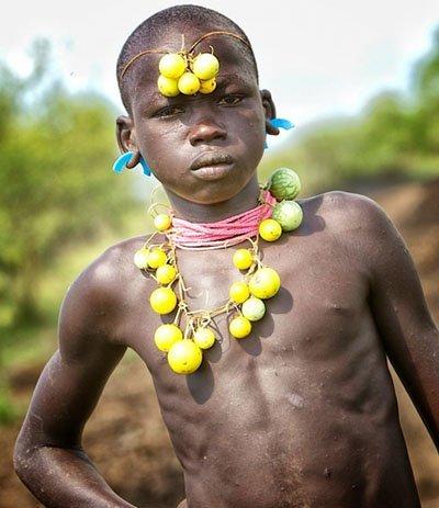 Mursi boy ready... Xingu People