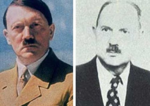 Photographs of the two reveal an astonishing resemblance.