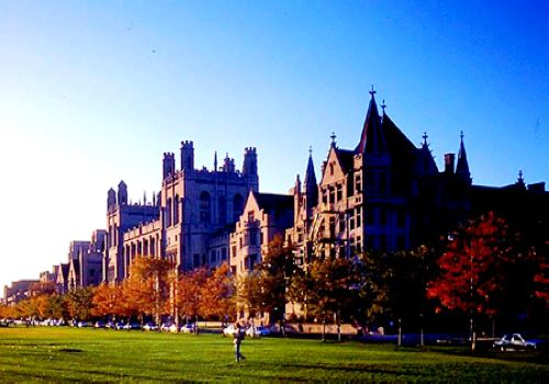 University of Chicago, one of the 'Top 10 universities for English in the world' by China.org.cn.