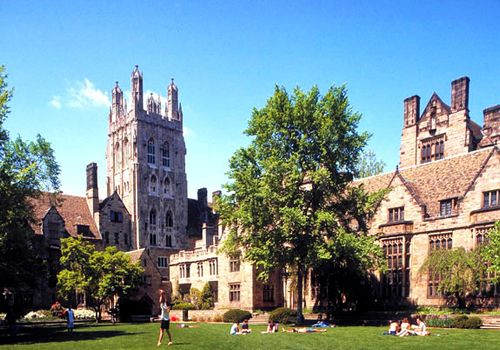 Yale University, one of the 'Top 10 universities for English in the world' by China.org.cn.