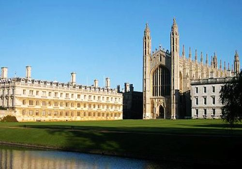 University of Cambridge, one of the 'Top 10 universities for English in the world' by China.org.cn.