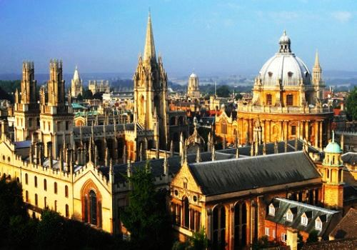 University of Oxford, one of the 'Top 10 universities for English in the world' by China.org.cn.