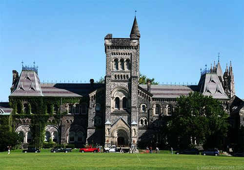 University of Toronto, one of the 'Top 10 universities for English in the world' by China.org.cn.
