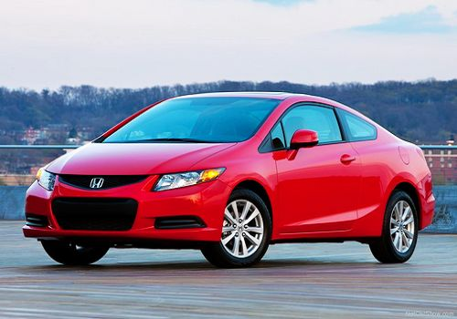 2012 Honda Civic, one of the 'Top 10 least toxic cars 2012' by China.org.cn.