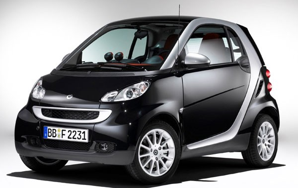2011 Smart Coupe, one of the 'Top 10 least toxic cars 2012' by China.org.cn.