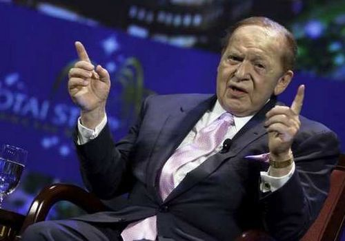 Sheldon Adelson, one of the 'Top 10 richest people on Earth in 2012' by China.org.cn.