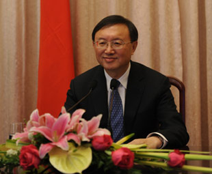 Chinese FM applauds China-US relations 