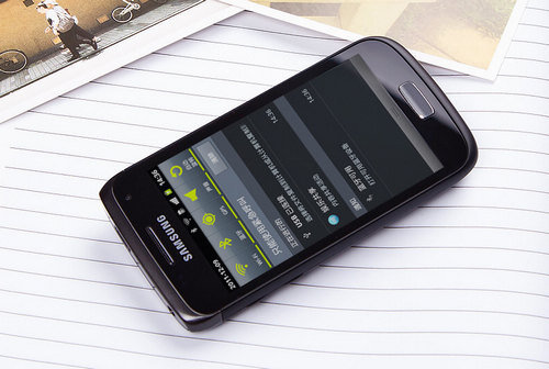 Samsung Galaxy W (i8150), one of the 'top 10 best-selling cell phones in Asia' by China.org.cn.