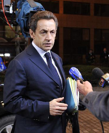 French President Nicolas Sarkozy [Xinhua File photo]
