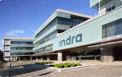 Indra Sistemas, one of the 'top 10 companies achieving stable growth' by China.org.cn.