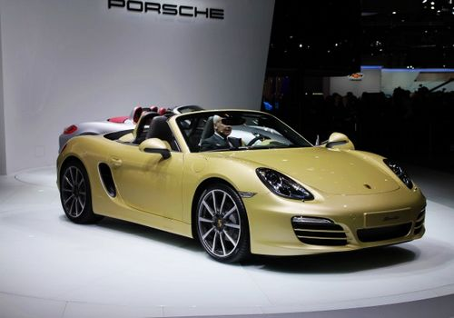 Porsche Boxster, one of the 'Top 10 cars at Geneva Motor Show 2012' by China.org.cn.