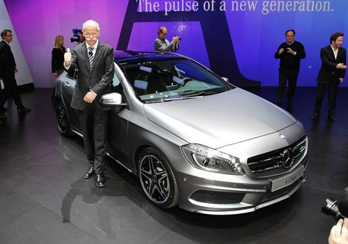 Mercedes A-Class, one of the 'Top 10 cars at Geneva Motor Show 2012' by China.org.cn.