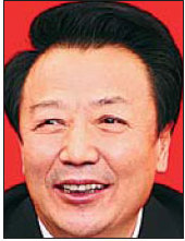 Wang Jun, governor of Shanxi Province.