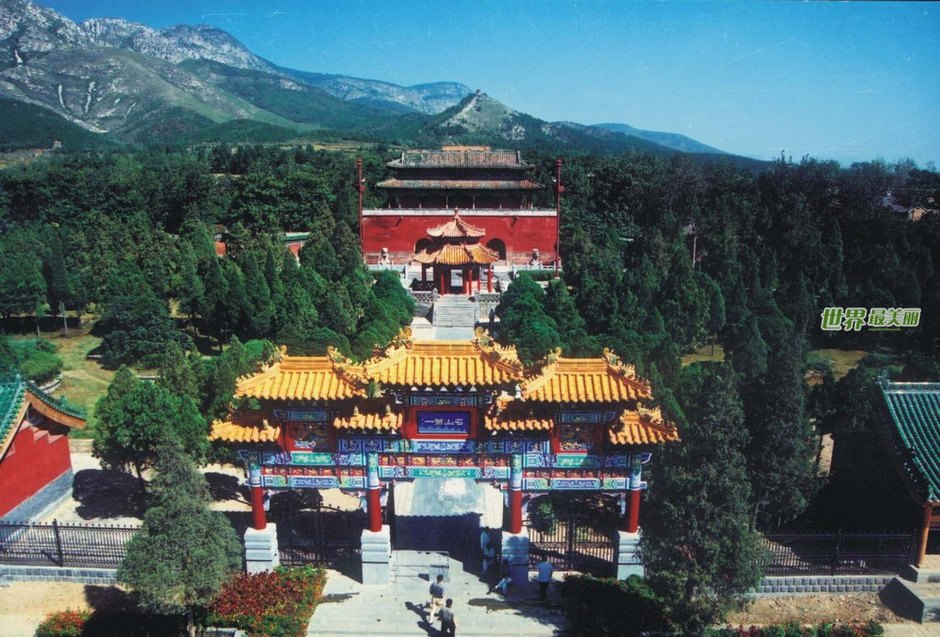 The First Temple of China  - Shaolin TempleChina Mountain Temple