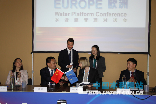 China and the European Union (EU) signed the Joint Statement upon Establishment of China-Europe Water Platform (CEWP) on Wednesday in Marseille, France. [water.com.cn]