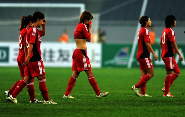Dim Olympic hope for China after loss to Aussie