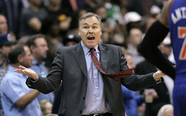 D'Antoni resigns as coach of stumbling Knicks