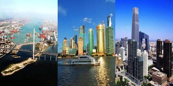 Top 10 richest provincial regions in China 2011