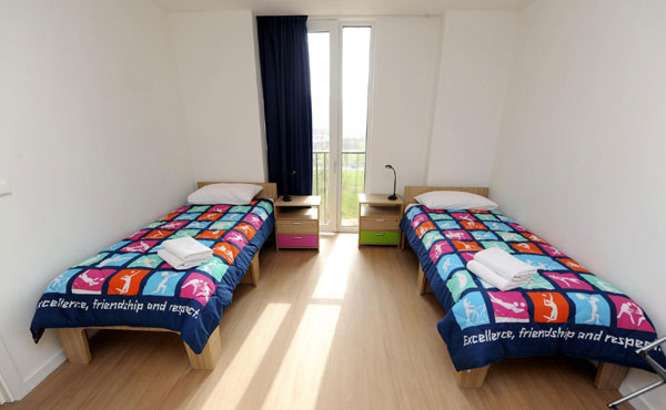 London unveils apartments at Olympic Village