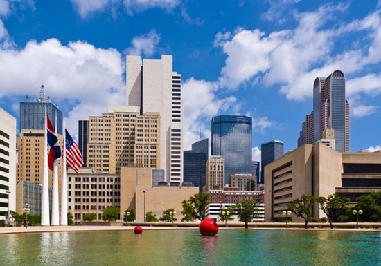 Dallas,one of the 'Top 10 global billionaire cities for 2012' by China.org.cn.