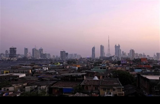 Mumbai,one of the 'Top 10 global billionaire cities for 2012' by China.org.cn.