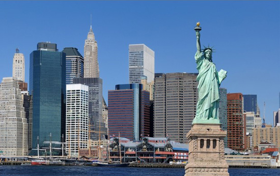 New York,one of the 'Top 10 global billionaire cities for 2012' by China.org.cn.