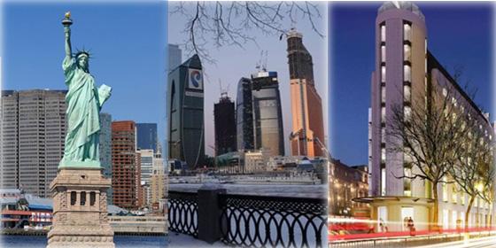 Top 10 global billionaire cities for 2012