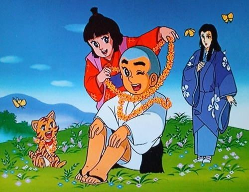Smart Ikkyu san, one of the 'Top 10 timeless Japanese cartoons favored by Chinese' by China.org.cn.