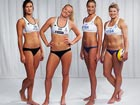 Beach volleyball players don't have to wear bikinis