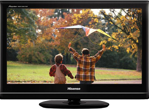 Hisense,one of the 'Top 10 most popular TV set brands in China 2011' by China.org.cn.