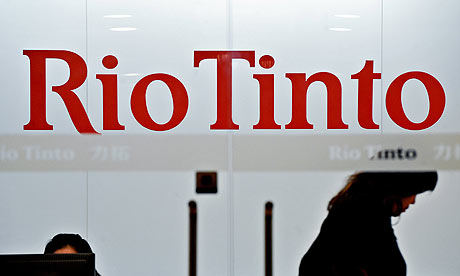 Rio Tinto joined China's iron ore trading platform. [File photo]