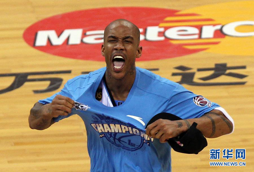 Beijing Ducks, led by former NBA star Stephon Marbury who notched game-high 41 points on Friday night, clinched their first-ever title of the Chinese Basketball Association (CBA) league.