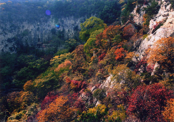 Yuanshan National Forest Park in Zibo