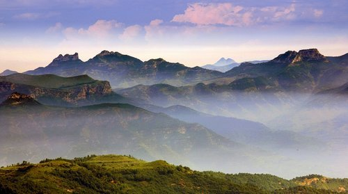 Lushan National Forest Park in Zibo