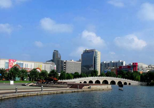 Taizhou, one of the 'Top 20 wealthiest cities in China' by China.org.cn.