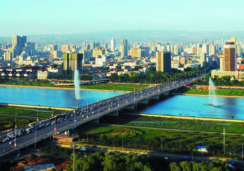 Taiyuan, one of the 'Top 20 wealthiest cities in China' by China.org.cn.