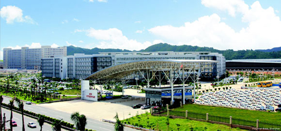 BYD Co. Ltd., one of the 'top 10 companies with most invention patents' by China.org.cn.