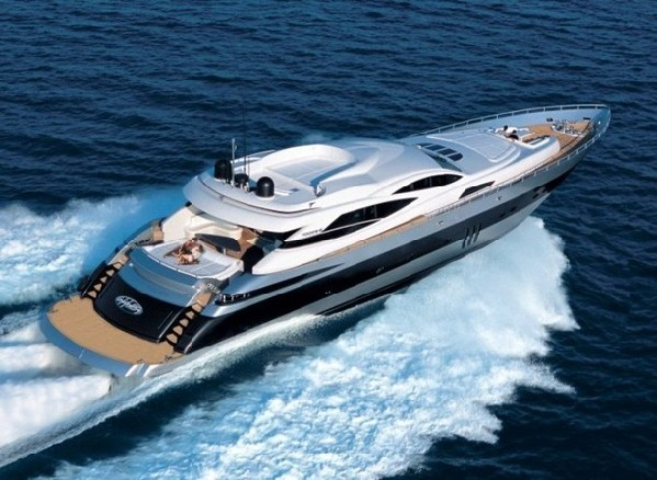 A Ferretti Yacht. [File photo]