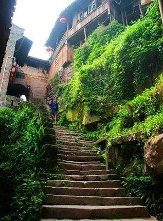 Bing'an Anicent Town, one of the 'top 10 ancient cities: China's best kept secret' by China.org.cn.