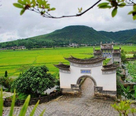 Heshun Village, Yunnan, one of the 'top 10 ancient cities: China's best kept secret' by China.org.cn.