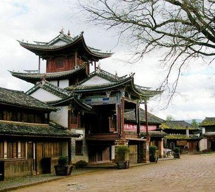 Sideng Street, Yunnan, one of the 'top 10 ancient cities: China's best kept secret' by China.org.cn.
